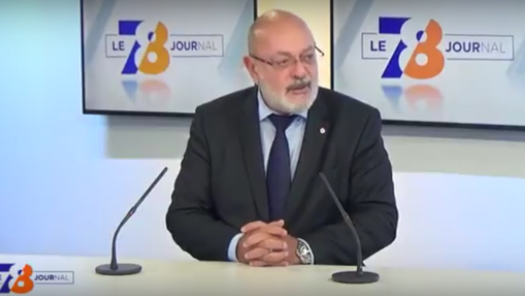 Bruno Millienne invité du journal de TV78