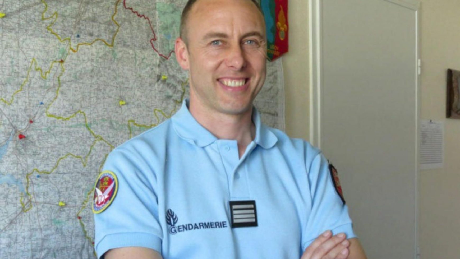 Hommage national au colonel Arnaud Beltrame