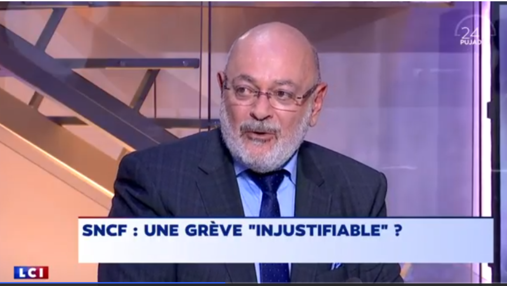 24H PUJADAS, L'info en questions – SNCF : UNE GREVE « INJUSTIFIABLE » ? replay du lundi 2 avril 2018