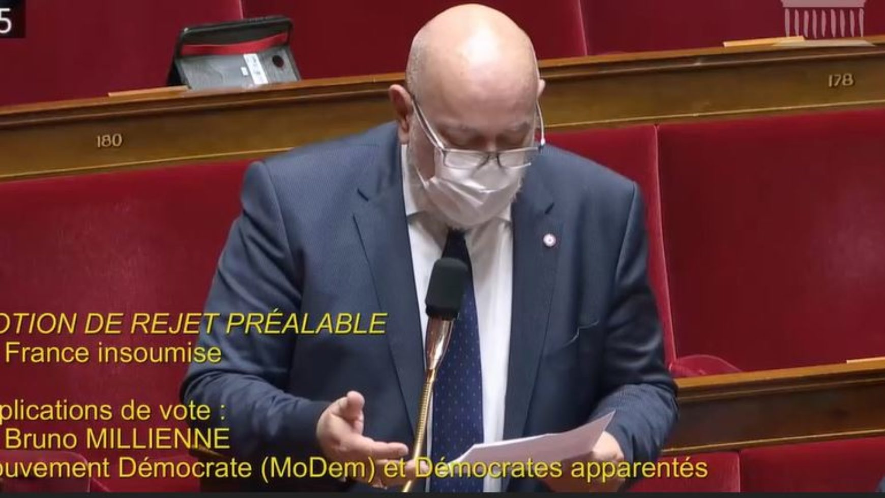 Intervention sur le PJL Climat, contre la motion de censure !